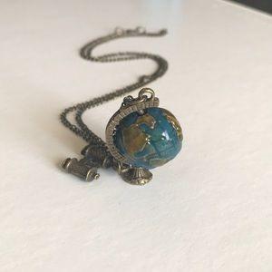 Jewelry - Mini globe necklace